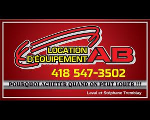 Location d'équipement AB